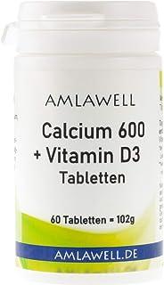 Calcio 600+ Vitamina D3pastillas. 60Pastillas