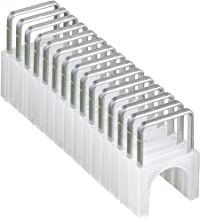Klein Tools 450-001 Heavy Duty Staples, 1/4 x 5/16-Inch Insulated Staples for CAT3 and CAT5e Data Cables, for Klein Tools ...