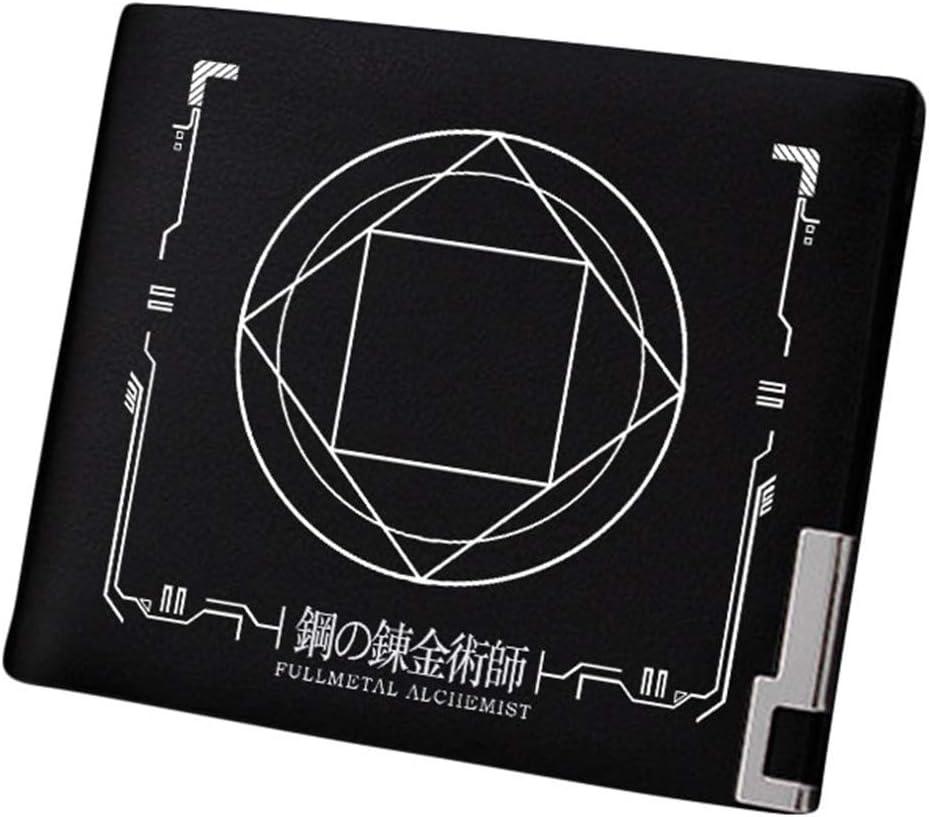 Gumstyle Fullmetal Alchemist Anime Artificial Leather Wallet Billfold Money Clip Bifold Card Holder 10