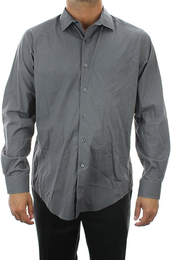 Alfani Mens Super intense SALE Stretch Button NEW Shirt Up Dress