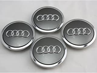 4pcs AUDI A3 A4 A6 RS4 WHEEL CENTER HUB CAP 4B0 601 170 A NEW SET