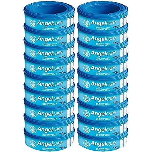Angelcare 18 Nachfüllkassetten für Windeleimer Comfort, Deluxe und Comfort Plus