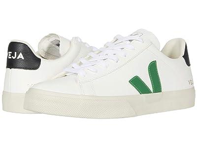 VEJA Campo (Extra White/Emeraude Black) Shoes