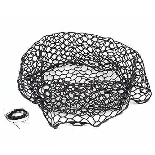 Fishpond: Nomad Replacement Rubber Net, 19',Black