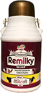 REFIT ANIMAL CARE - Liquid Calcium for Cow, Cattle, Buffalo, Goat, Sheep and Farm Animals (Chelated REMILKY Forte 2 LTR.)