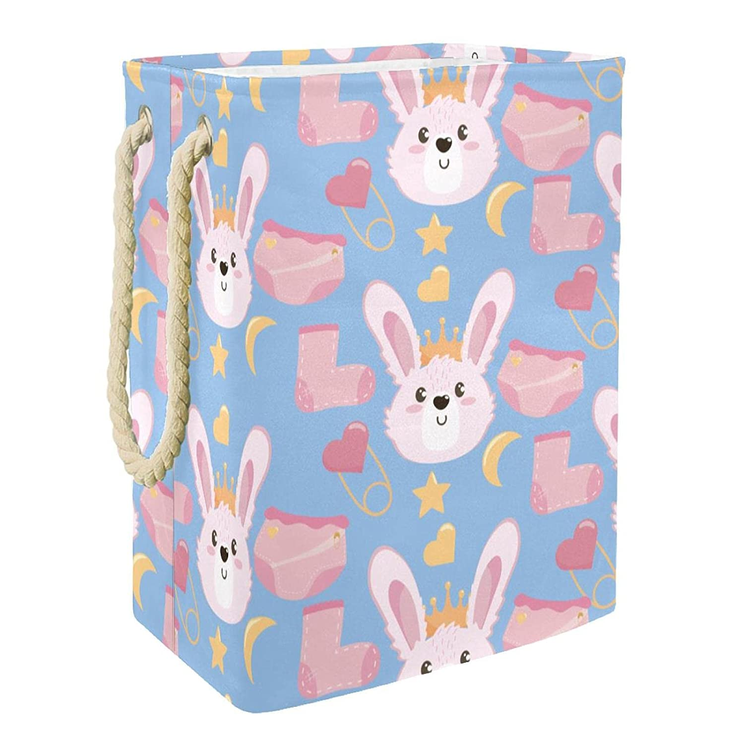 Toy Storage Basket Cute Rabbit Laundry Foldable St Hamper Special New products, world's highest quality popular! price for a limited time