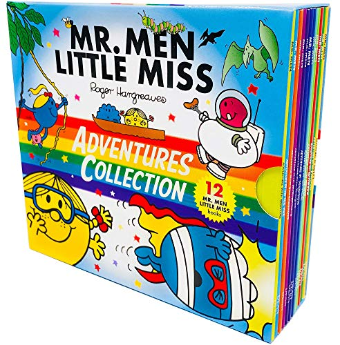Compare Textbook Prices for Mr. Men & Little Miss Adventures Collection 12 Books Box Set by Roger Hargreaves  ISBN 9780603579349 by Roger Hargreaves,Adam Hargreaves,Mr Men: Adventure with Monsters By Adam Hargreaves,978-1405294515, 1405294515, 9781405294515