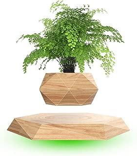 C&G Floating Bonsai Pot, Magnetic Suspension Levitating Air Flower Pots Creative Design Levitation Bonsai Home Office Decorations Fun Gift(NOT Include Plant)