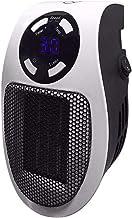 YDBET Calentador eléctrico portátil Mini Ventilador del Calentador, Escritorio domésticos de Pared práctico de calefacción Estufa Caliente Radiador con Mando a Distancia, 500W 220V