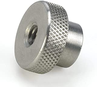 11//16 Dia x 13//32 THK 5//16-18 Knurled Head Thumb Nut 18-8 Stainless Steel Nuts USA Made - Qty-25