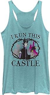 Disney womens Maleficent I Run This Castle T-Shirt