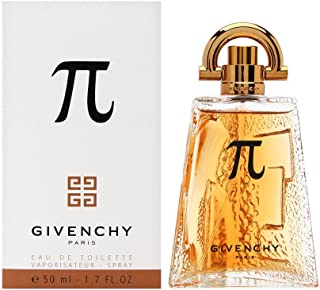 Pi By Givenchy For Men. Eau De Toilette Spray 1.7 Ounces