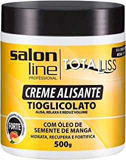 Creme Alisante - Manga Forte Pote, 500 gr, Salon Line