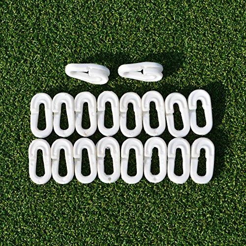 FORZA Fußballtor Netzclips – weiße Fußballtor Quickclips aus Kunststoff – MehrstückVerpackungen sind erhältlich (40er-Set)