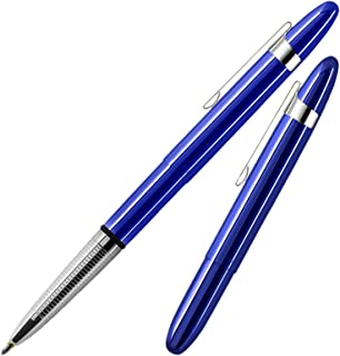 Fisher Space Pen Bullet Blueberry Ball Pen With Clip Fs400bbcl