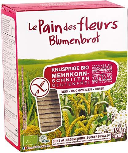 Blumenbrot Bio Knusprige Bio Mehrkorn-Schnitten (2 x 150 gr)