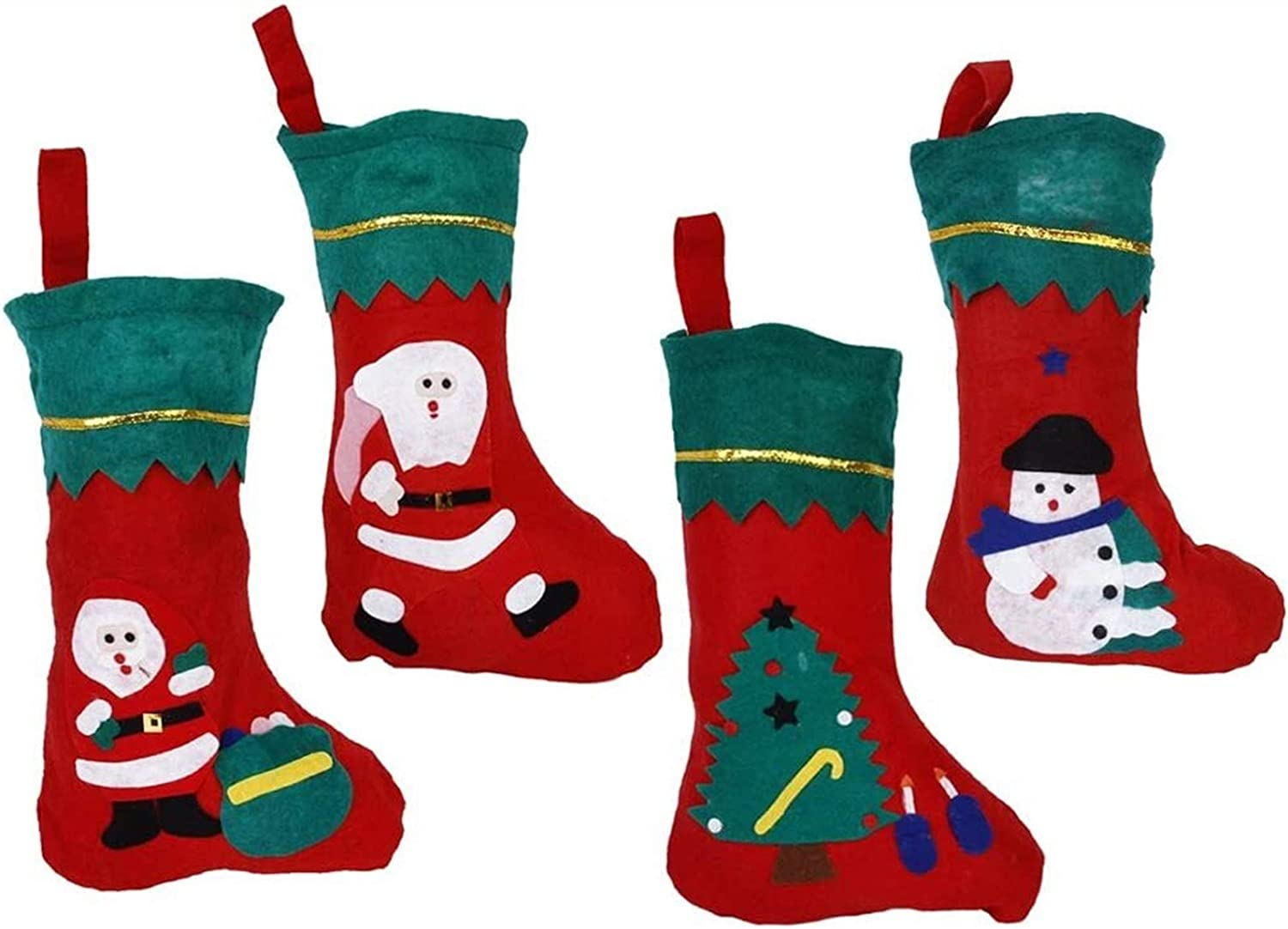 RENFEIYUAN Pack of 12pcs Kids Them Christmas Selling Stockings OFFicial store Xmas with
