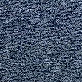 MonsterShop Teppichfliesen 50 x 50 cm Bodenfliesen Teppich Gesamtfläche 5 m² (Sturmblau) 20 Stück