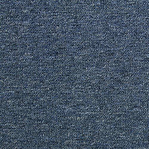 Losetas de Moqueta Pack de 20 5m2 Parches para Moqueta Hogar Oficina Color Azul Oscuro