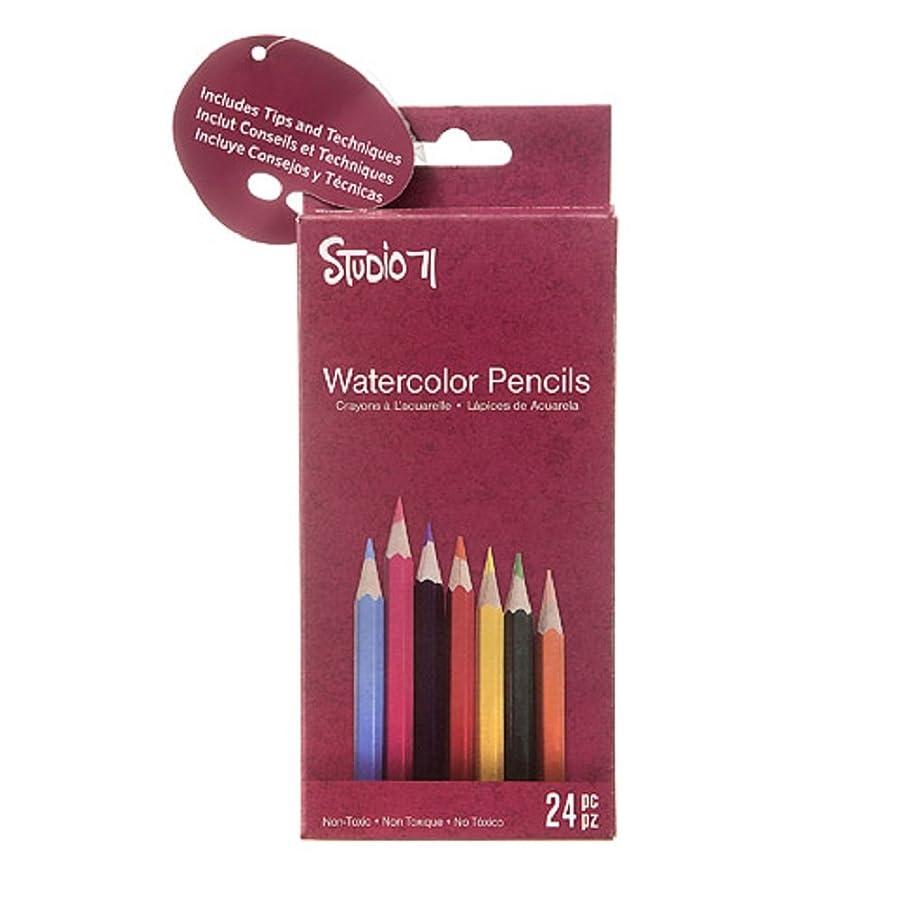 Darice Studio 71 Watercolor Pencils: 24 Pack
