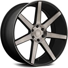 Dub S127 Future Сustom Wheel - Black with Machined Face and Double Dark Tint 24