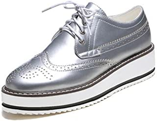Best ladies silver lace up brogues Reviews