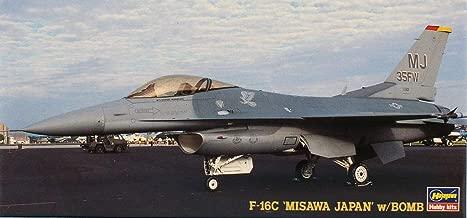 Hasegawa 1:72 F-16 C Misawa Japan w/ Bomb Aircraft Model Kit #DT119 #02879