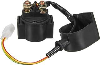 Oro KIMISS Rel/è solenoide per rel/è avviamento Moto ATV