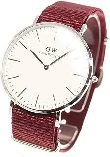 Daniel Wellington Men's Quartz Watch analog Display and Nylon Strap, DW00100268
