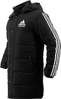 Combat Sports Winter Long Parka Coat - Black