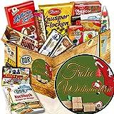 Frohe Weihnachten + DDR Set Süßigkeiten + Geschenkebox zu Weihnachten