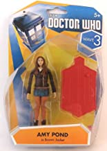 Doctor Who Wave 3 Amy Pond in Brown Jacket 3 3/4