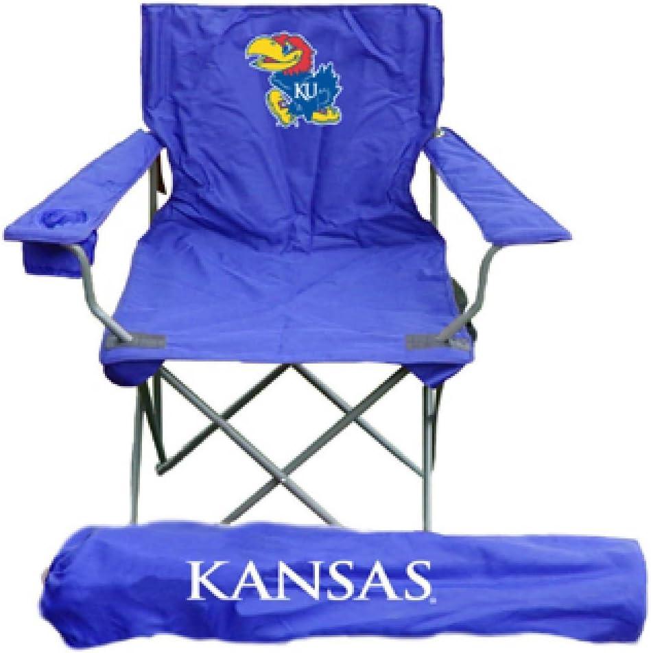 Kansas Jayhawks NCAA Ultimate Chair Tailgate Adult Columbus Dedication Mall