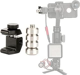 ULANZI PT-4 Universal Gimbal Counterweight Compatible for DJI Osmo Mobile 2 / Zhiyun Smooth 4 / Smooth Q/Feiyu Vimble 2 / Evo Gimbal Stabilizer Applied Balance to Moment Anamorphic Lens