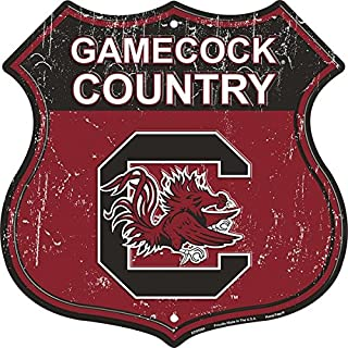 Gamecock Country - University of South Carolina Route Sign
