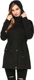 Extaum Women's Versatile Militray Hoodie jackets with Drawstring