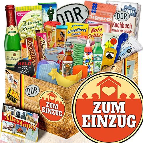 Zum Einzug / Geschenkbox 24er Allerlei / Geschenk zum Einzug für Sie