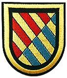 Gemelolandia | Parche Bordado Termoadhesivo de la UME Unidad Militar de Emergencias 8 cm | Muy Adherentes | Patch Stickers Para Decorar Tu Ropa | Fáciles de Poner