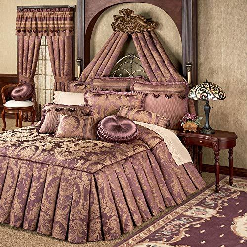 Why Choose J Queen-Exclusives Josephine Grande Bedspread Maroon