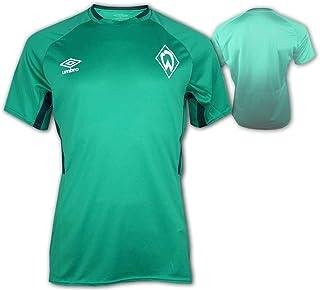UMBRO SV Werder Bremen Kinder Training Shirt SVW Fan Fußball Jersey Bundesliga, Größe:152