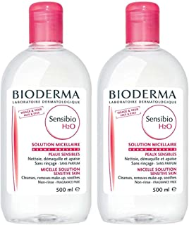 BIODERMA SENSIBIO H2O 500ML Yuz Temizleme Solüsyonu 2 URUN