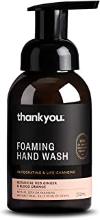 Thankyou Foaming Hand Wash Botanical Red Ginger & Blood Orange - Invigorating, 250ml