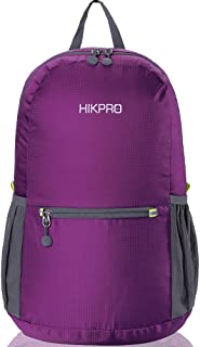 HIKPRO 20L – The Most Durable Lightweight Packable Backpack, Water Resistant Travel..