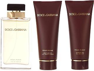Dolce & Gabbana Pour Femme Gift Set for Women Eau de Parfum 100ml + 100ml Body Lotion + 100ml Shower Gel
