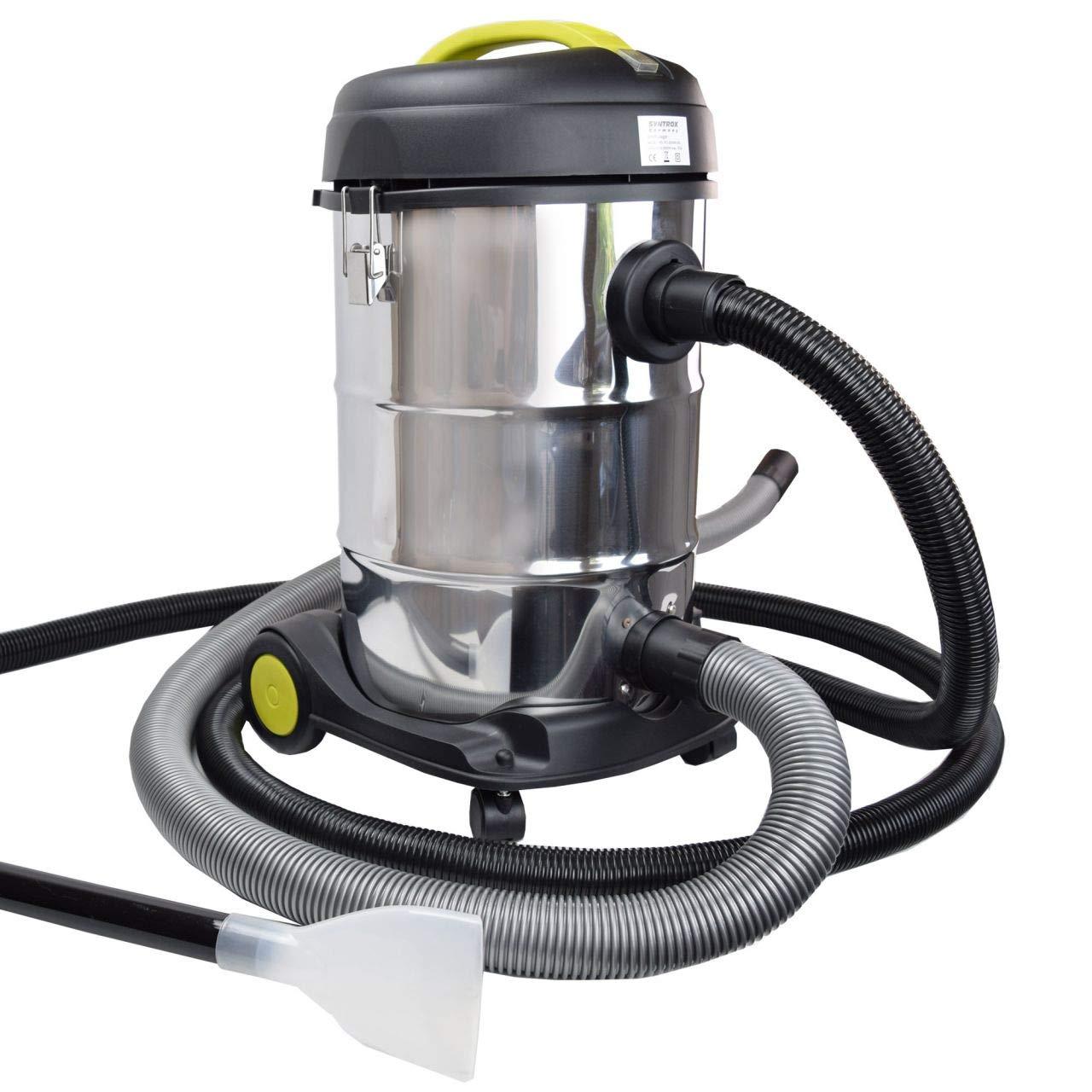 Syntrox Germany - Aspiradora de barro y barro, 2000 W, 30 litros ...