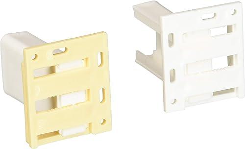 discount RV Designer H305, Drawer Slide Socket wholesale Set, outlet sale C - Shape, 2 Per Pack, Cabinet Hardware outlet sale