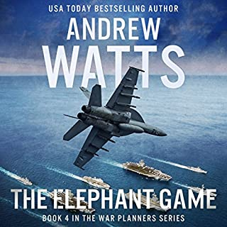 The Elephant Game audiobook cover art