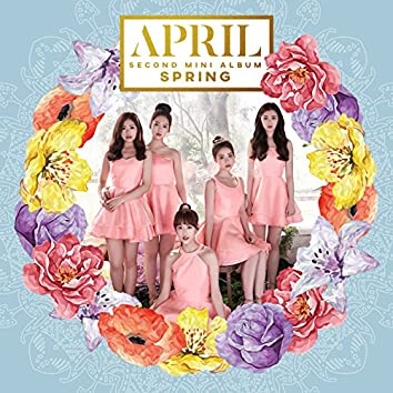 APRIL 2nd Mini Album 'Spring'