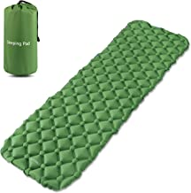 ONSON Sleeping Pad - Ultralight Compact Inflating Pads, Portable Camping Mat Suit for Hiking, Backpacking and Travel - Air Cell Design with FoldingCarry Bags Accessories