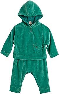 Conjunto Chá da Tarde Verde - Menina Toddler